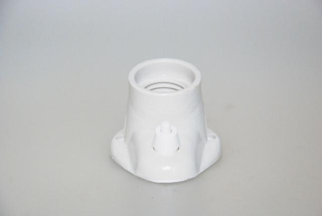 Porcelænsfatning E27 Væg